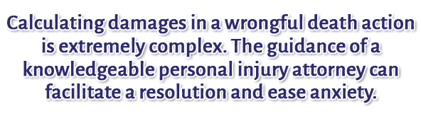 Wrongful Death Practice Areas